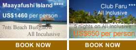 Holiday Offers to Maldives