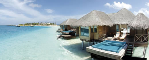 Huvafenfushi Maldives - Lagoon Bungalow with Plunge Pool