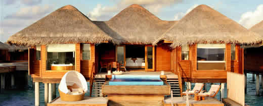 Huvafenfushi Maldives - Ocean Bungalow with Plunge Pool