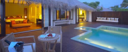 Zitahli Resorts & Spa Kuda-Funafaru - Super Deluxe Beach Villa with Pool